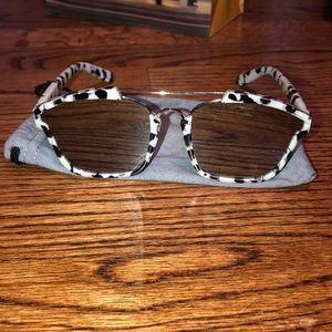 Black and White marbled Sunglasses